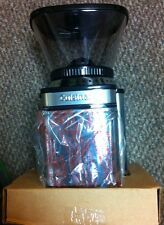 CUISINART AUTOMATIC COFFEE MILL BURR GRIDER CCM-16SA BLACK AND SILVER