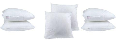 "2 PACK 18 Inch Cushion Inner Sofa Cushion Pads White Chunky 30/% Off RRP 18/""x18/"""