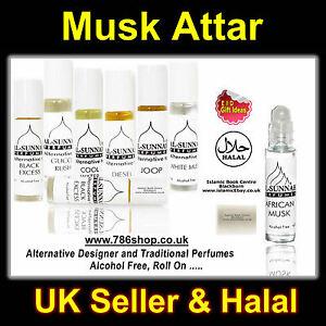 Details about Al Sunnah Halal Islamic Attar & Perfume Oil ( Musk / Misk )  Brand New 10ml roll