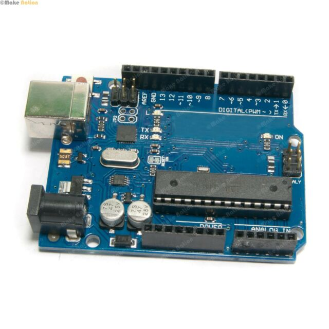 Arduino UNO R3 Clone With FREE USB Cable - Robotics DIY Educational