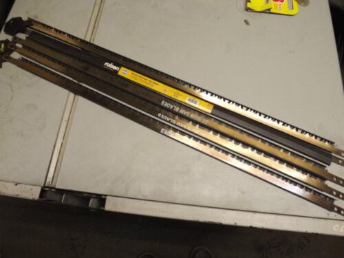 """30/"""" Rolson Bow saw blades x5 760mm"""