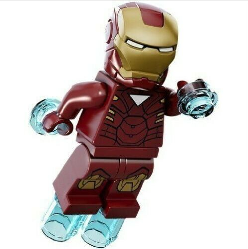 Nuovo in Blister G3 Iron Man Avenger Custom Figures Gashapon MOC LEGO
