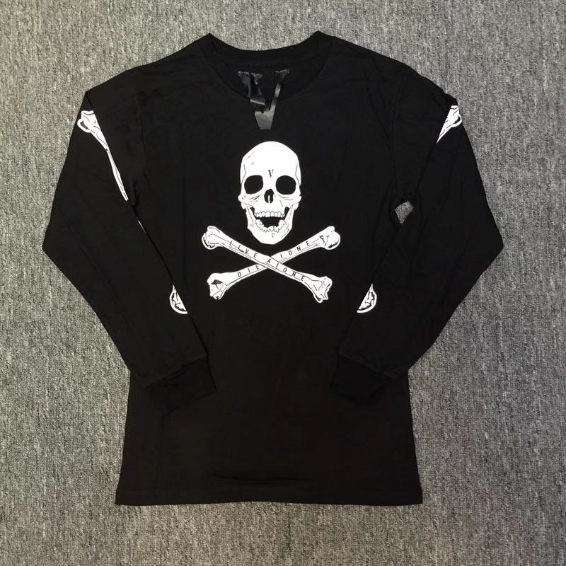 VLONE Skull Long Sleeve Shirt