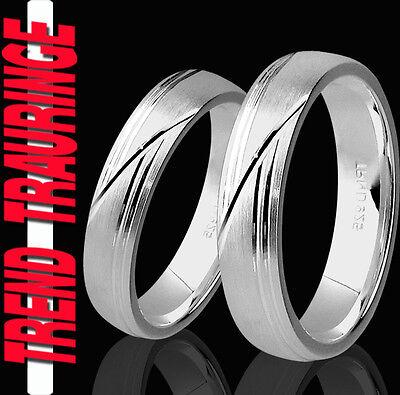 Zielsetzung 2 Partner Ringe & Gratis Gravur Eheringe Trauringe Verlobungsringe * T45