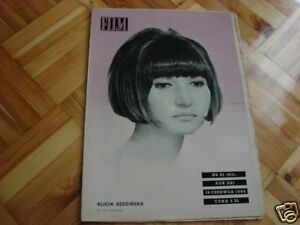 Alicja Sedzinska front cover Polish mag Film 1966 - Pyszkowo, Polska - Alicja Sedzinska front cover Polish mag Film 1966 - Pyszkowo, Polska