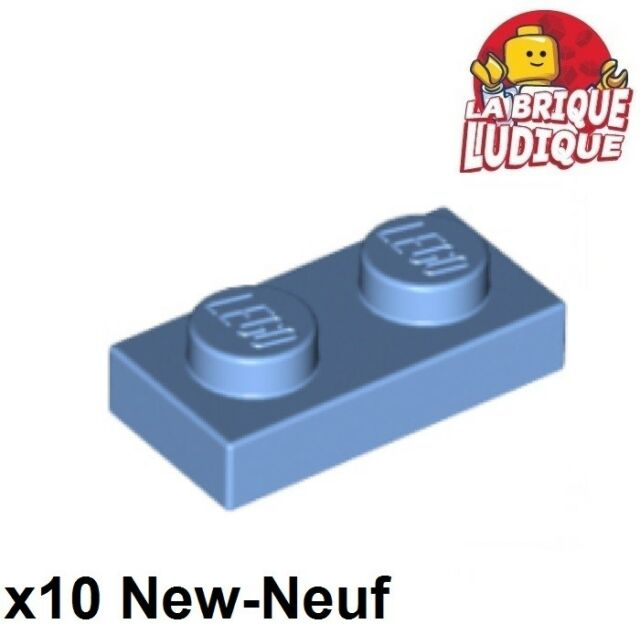 LEGO Dark Blue Top and Bottom 6x4 Wedge Brick Pieces