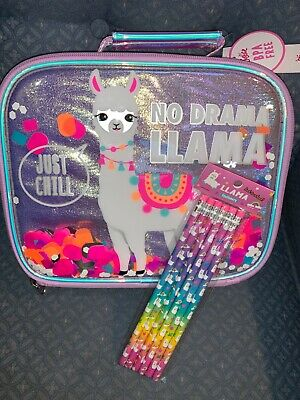 JUSTICE GALAXY SHIMMER INITIAL D,H,L,M,S LUNCHBOX POM POM SUPER SPARKLY CUTE