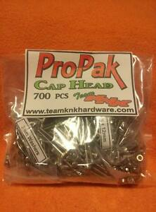 700-pc-Cap-Head-Pro-Pak-Stainless-Steel-Screws-axial-rc4wd-scx10-wraith-3mm-KNK