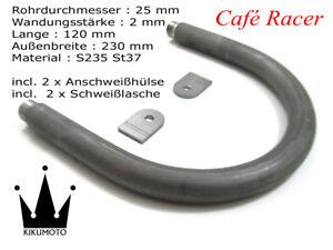 Cafe-Racer-Loop-25x2-Breite-230mm-Laenge-120mm-Heckrahmen-Hoop-Boucle-1947593