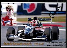 Jakub Smiechowski Foto Original Signiert Motorsport + G 15411