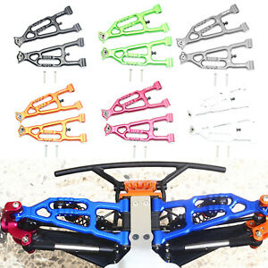 1-Pair-Aluminum-Upgrade-Front-Lower-Arm-Set-For-LOSI-1-10-BAJA-REY-RC-Cars