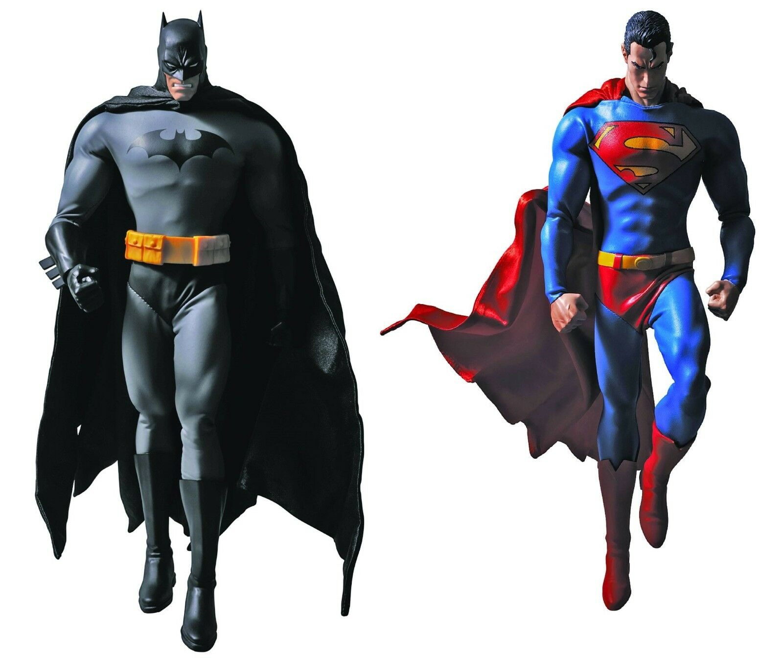 MEDICOM Real Action Heroes RAH Hush BATMAN & SUPERMAN 1/6 SCALE FIGURE SET