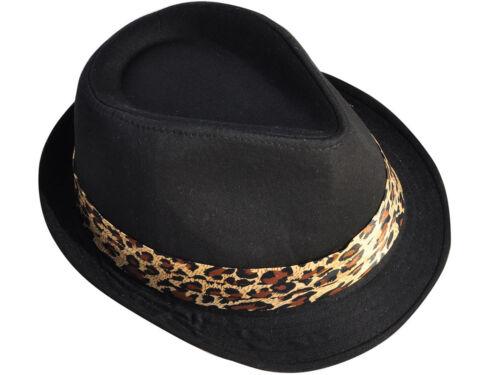 Men Women Fedora Panama Felt Trilby Jazz Woolen Gangster Hat Homburg Cap