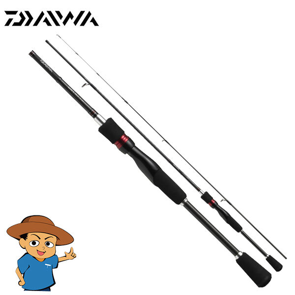 Daiwa AJING X 59UL-S Ultra Light casting spinning fishing rod pole Solid tip