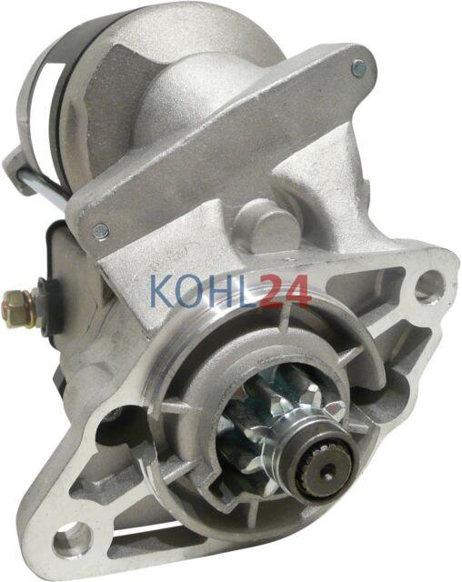 Made in Germany Anlasser Nissan TCM Yanmar Motor Hitachi 12 Volt 1.9 KW