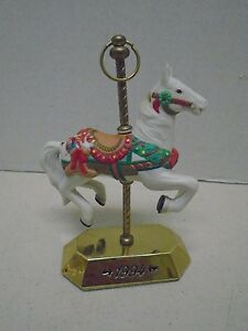 Hallmark-Christmas-Ornament-Tobin-Fraley-Carousel-Horse-Series-1994-Hand-Painted