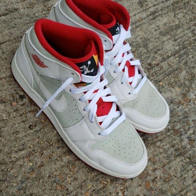 Jordan 1 Mid WB BG Youth Shoes Size 6
