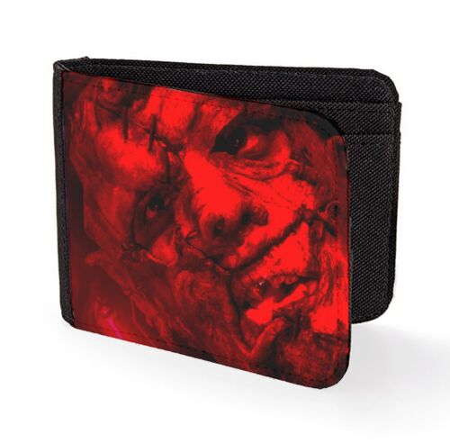 leatherface wallet credit card classic art print horror texas chainsaw print