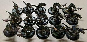 Warmachine-Hordes-Gatorman-Minions-Army-Lot-20-miniatures-D-amp-D-Pathfinder