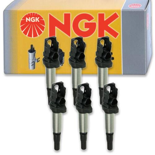 Spark Plug Tune Up bb 6 pcs NGK Ignition Coil for 2003-2006 BMW 330i 3.0L L6