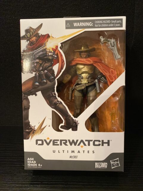 Hasbro Overwatch Ultimates McCree Action Figure 6 in. Blizzard