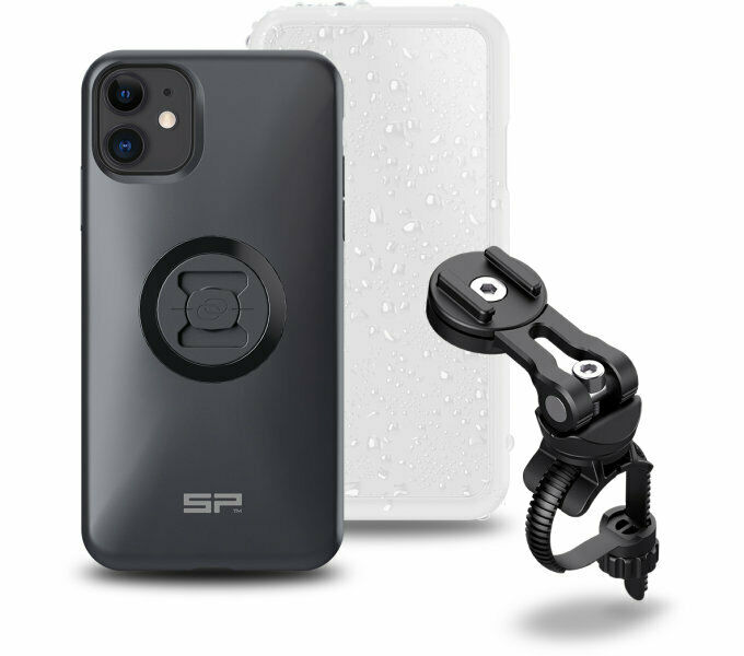 Sp Connect Bike Bundle II for IPHONE 11 pro Cell Cover with Bracket Handlebar