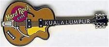 Hard Rock Cafe KUALA LUMPUR 2001 Asian Basic GUITAR Series PIN HRC Catalog #4224