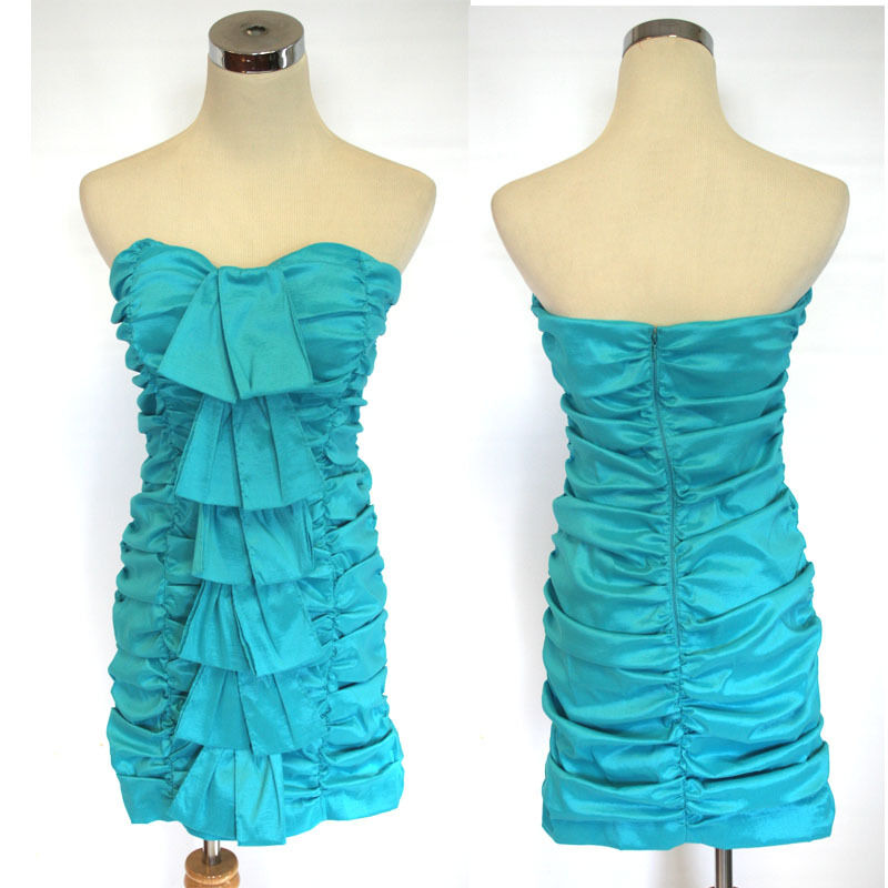 NWT HAILEY LOGAN  90 Turquoise Prom Party Dress 13