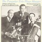The Pasquier Trio plays Mozart (CD, Dec-2009, Music & Arts)