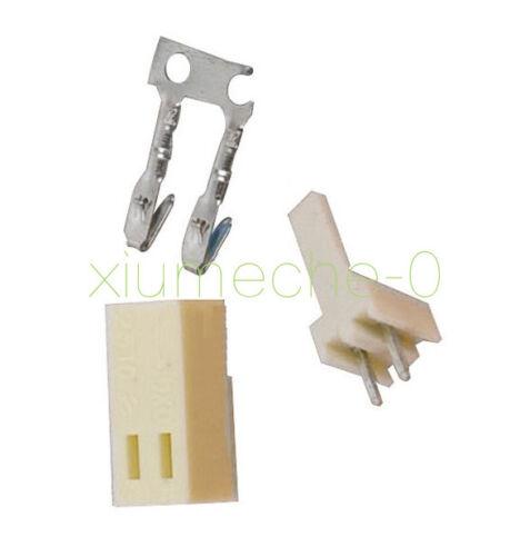 Terminal 50PCS KF2510-2P 2.54mm Pin Header Housing Connector Kit KF2510 2P
