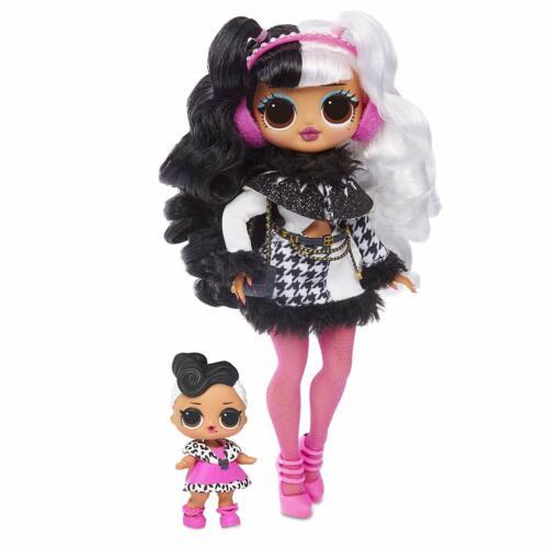 L.O.L Surprise Winter Disco Dollie Fashion Doll /& Sister O.M.G