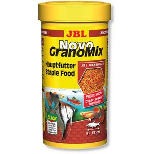 JBL-NovoGranoMix-Click-250ml-Refill-Novo-Grano-Mix-Fish-Food-Granules-Original
