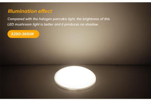 "3500K 10X4.5/""12V LED Ceiling Light Cabin Under Cabinet Lamp for RV Trailer Boat"
