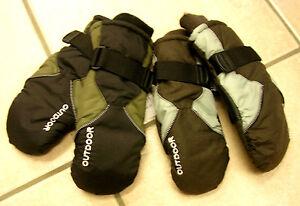 Schnelle Lieferung Handschuhe, Fäustlinge, Waterproof, Schwarz, Oder Braun Neu!! Erfrischend Und Wohltuend FüR Die Augen
