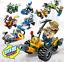 Sembo-Blocksteine-Feuerwehrbedarf-Militaerfahrzeuge-Figuren-Spielzeug-Geschenk Indexbild 1