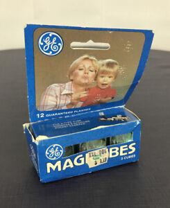 Vintage USA General Electric Bluecoat Flashcubes 3 Cubes 12 Flashes New