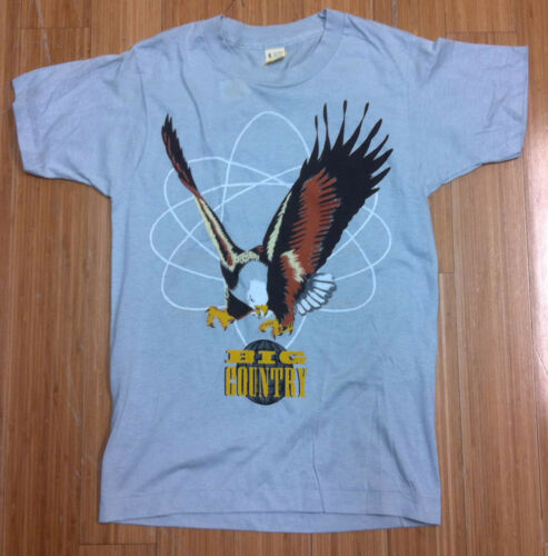 BIG COUNTRY The Seer Tour North America 1986 Concert Tour T-Shirt Screen Stars S