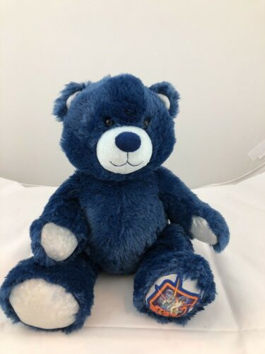 Build A Bear Teddy Star Wars 14 Plush Blue Iridescent Silver Stuffed Animal Toy
