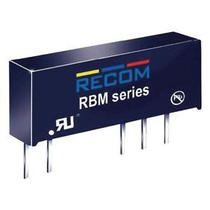 RECOM-10000175-rbm-1212d-DC-DC-CONVERTITORE-12V-in-12V-12V-Uscita