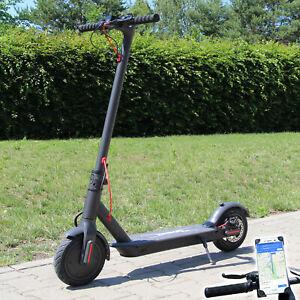 Elektro-Scooter-500-W-Escooter-Roller-Elektroroller-Faltbar-Aluminium-E-Scooter