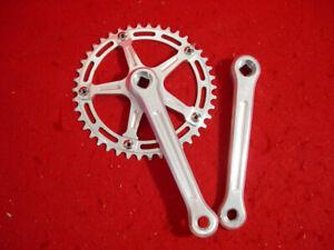 Campagnolo-Strada-Crankset-170-mm-Single-Alloy-42-Gear-Track-Used