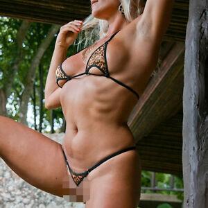 String Bikini - Overklit Leo - Handmade in Germany