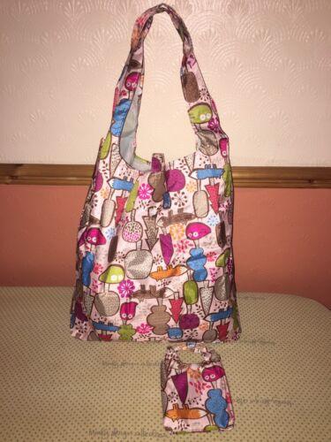 Water Resistant Fold Away Shopping Bag In Mini Bag New^*^