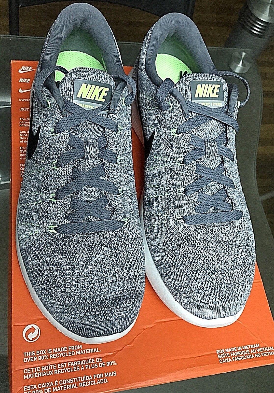 Nike lunarepic basso flyknit forte grey / lupo nero grigio 843764 005 Uomo 41 di scarpe