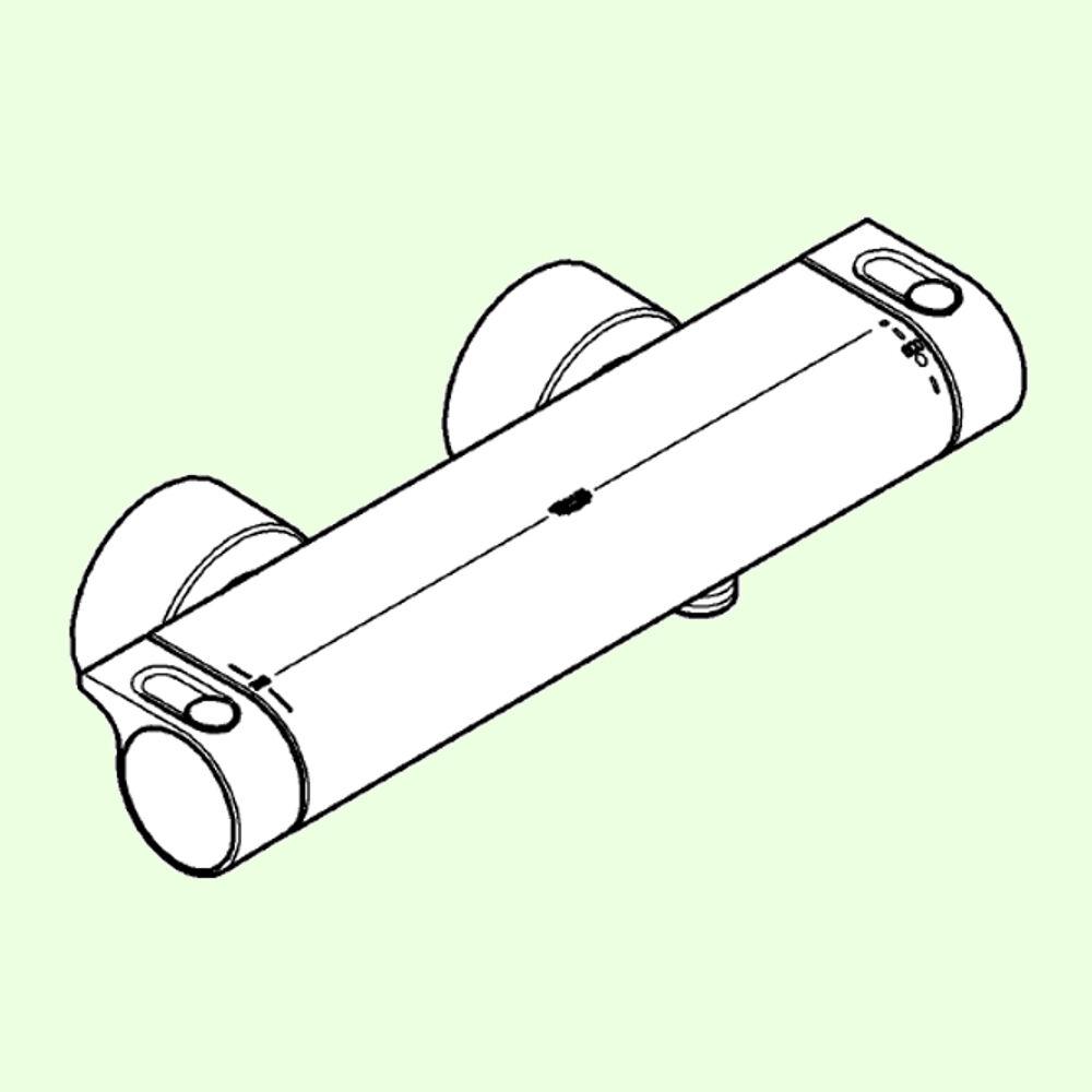 Grohe Grohe Grohe Thermostat - Grohtherm 2000 - Brause Brausebatterie 34169001   Haben Wir Lob Von Kunden Gewonnen  db1dac