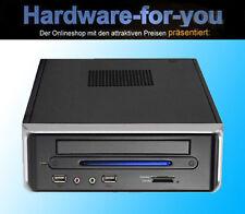 Quad Core Q1900B-ITX CPU M-ITX HDMI SPDIF DDR3 / USB 3.0 / 8 GB 65 Watt Gehäuse