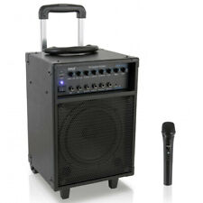 Pyle PWMA230BT 700W Wireless Portable Bluetooth PA Speaker System with Wheels