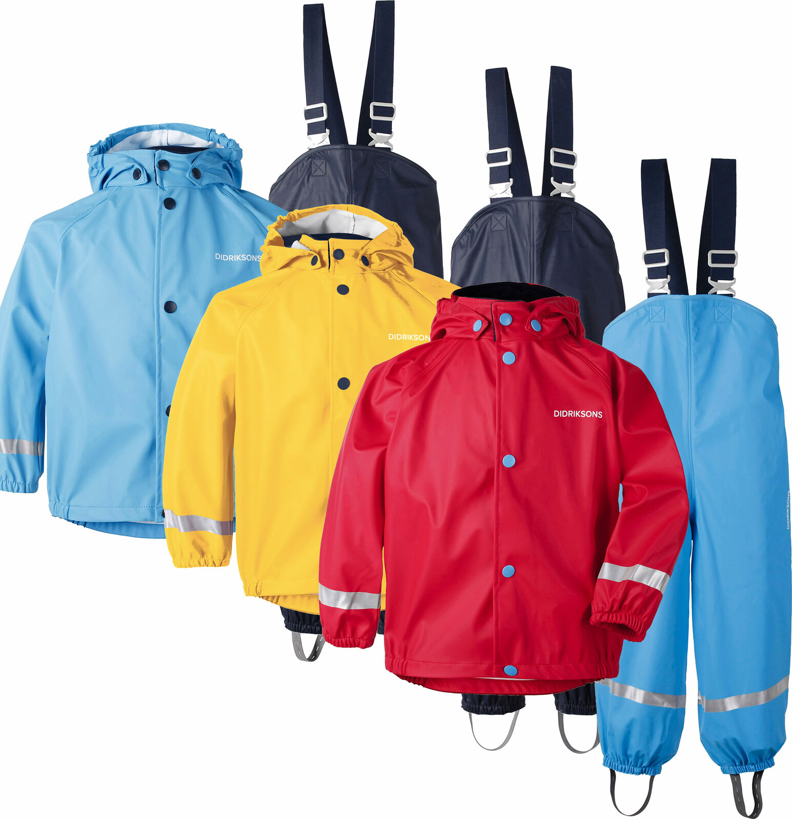 puhdistushinnat myynti vähittäiskauppias alkuun tuotemerkkejä Didriksons Slaskeman Kids Waterproof Set Jacket & Trousers PU Galon