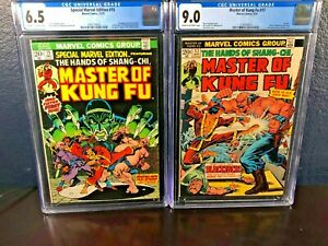 1st-Appearance-MASTER-OF-KUNG-FU-Special-Marvel-Edition-15-FIRST-SOLO-17-cgc-lot