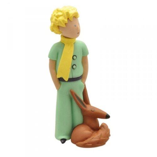 Le Petit Prince figurine Le Petit Prince et le renard 7 cm Plastoy 610306
